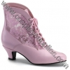 DAME-05 - Baby Pink Faux Leather